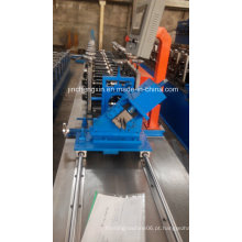 Laminador galvanizado Usado Omega Profile Light Gauge Steel Framing Cold Roll formando máquina